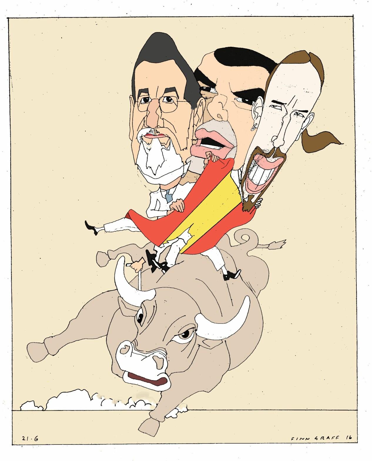 Omkampen i Spania