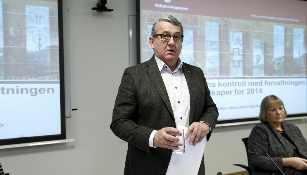 <strong>RIKSREVISOR:</strong> Per-Kristian Foss. Foto: Gorm Kallestad / NTB scanpix