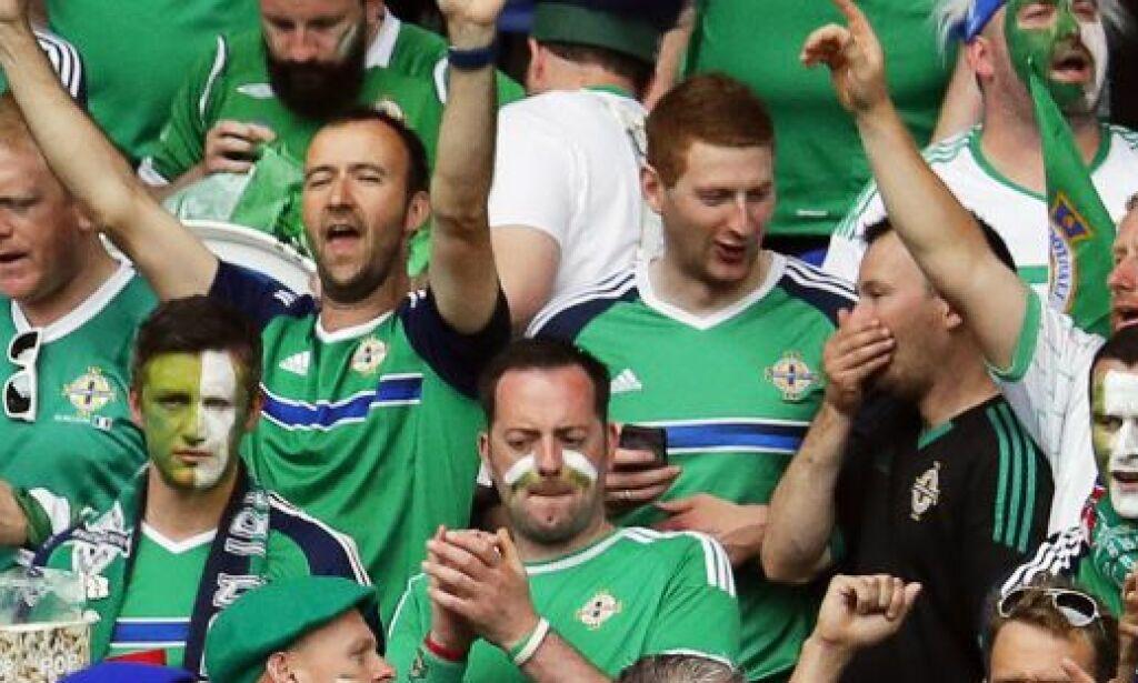 image: Mens Tyskland bedrev et episk sjansesløseri, sang nordirene om en spiller du aldri har hørt om