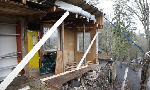 image: Mannen som delte naboens hus i to tapte i lagmannsretten