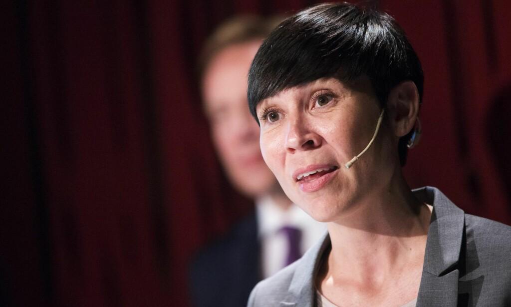 HASTER TIL SYRIA: Forsvarminister Ine Eriksen Søreide (H)