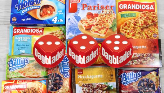 Ernæringstest: Den sunneste porsjonspizzaen