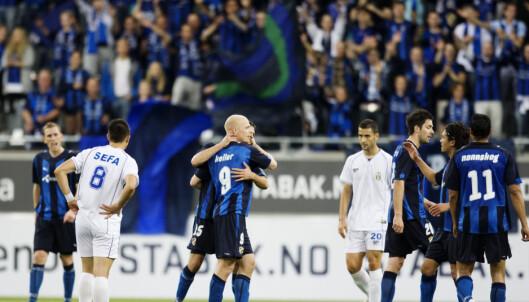 <strong>MISTENKT:</strong> Stabæks 4-0-seier over albanske Tirana er en av flere kamper hvor albanske lag har blitt mistenkt for kampfiksing. Nå er det albanerne som kommer med anklager. Foto: Cornelius Poppe / SCANPIX