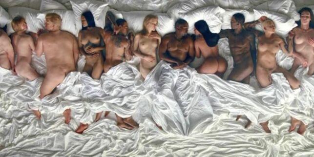 image: Kanye West sjokkerte med kjendis-orgie og naken Taylor Swift