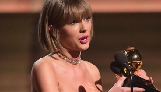 Taylor Swift kom med stikk til Kanye West i takketalen