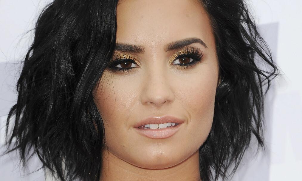 <strong><p>ÅPENHJERTIG:</strong> Fire år etter at hun åpnet opp om psykiske problemer går Demi Lovato fortsatt på møter med Anonyme Alkoholikere. Foto: SCANPIX</p>