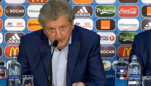 Hodgson slutter i jobben etter sjokktapet mot Island