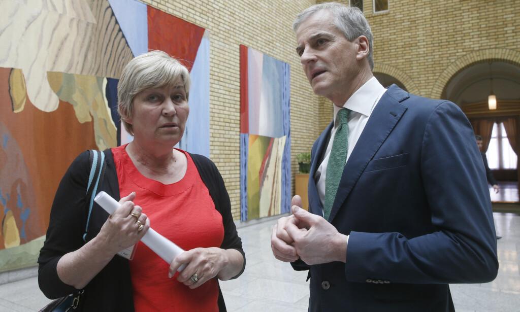 KLAR: Tina Bru mener Ap-leder Jonas Gahr Støre må være klar overfor LO og LO-leder Gerd Kristiansen på at vi trenger oljeutvinning i nord. Foto: Vidar Ruud / NTB scanpix