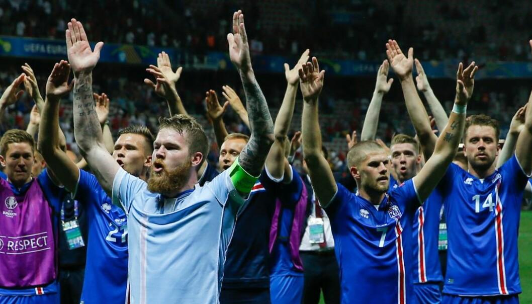 Det islandske viking-klappet er ikke islandsk i det hele tatt