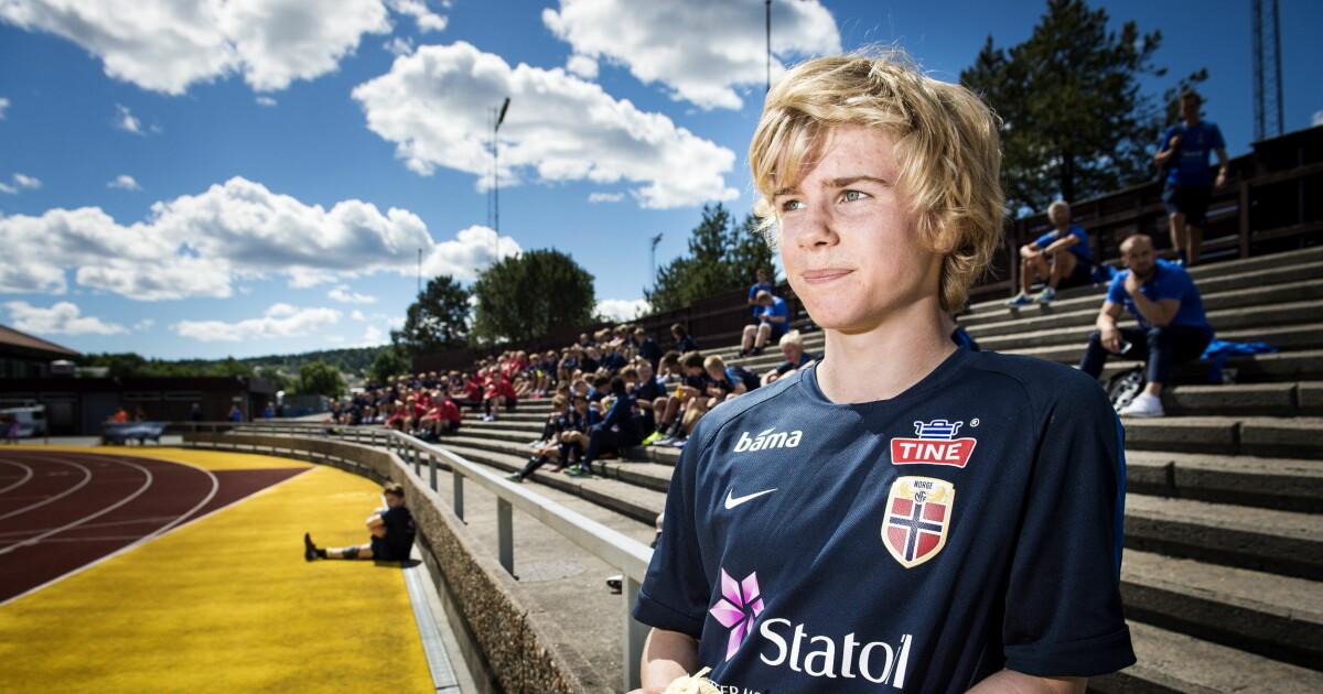 91fa7e4d Edvard (15) omtales som Norges største talent i nyere tid. Det inkluderer Martin  Ødegaard - Dagbladet