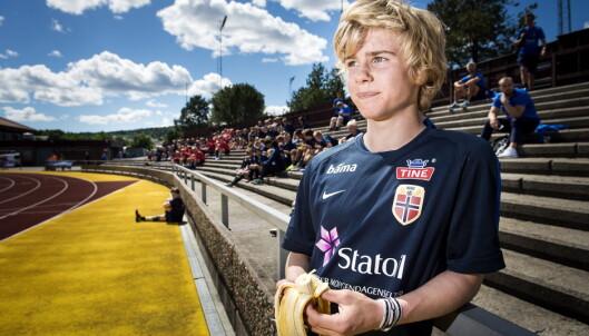 BALLKUNSTNER: Slik omtales Sandvik Tagseth. Foto: John T. Pedersen / Dagbladet