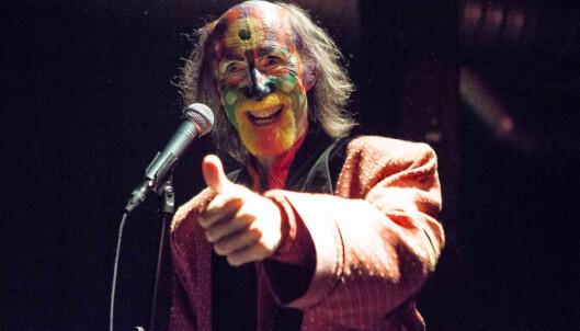 <strong>Fargerik:</strong> Den engelske singer-songwriteren Arthur Brown er en av mange som har opptrådt på Blå. Foto: Per-Otto Christiansen/Scanpix