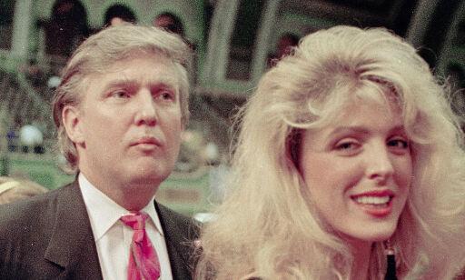 image: Trump ville ikke fortelle kona at han var utro: - Jeg hadde en deilig kjæreste, en deilig kone - alt var deilig
