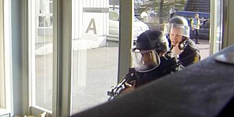 image: Slik trener politiet på terror