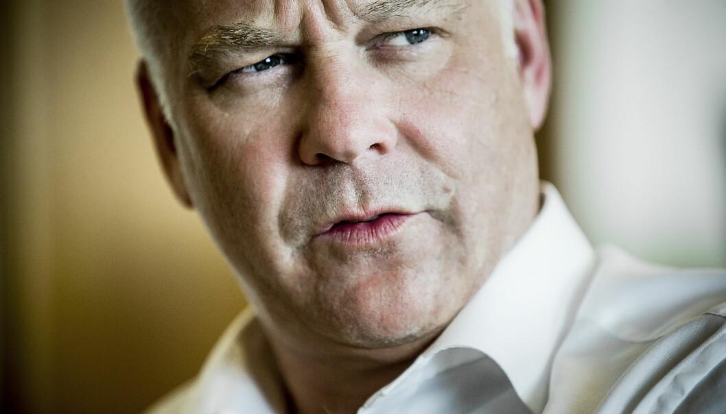 <strong>AVDEKKET TRAKASSERING:</strong> Thor Gjermund Eriksen bekrefter at det er kommet fram opplysninger om trakassering også i NRK. Opplysningene skal ha kommet fram i etterkant av #metoo-kampanjen og Aleksander Schaus varslingsmeldinger på Twitter. Foto: Bjørn Langsem / Dagbladet