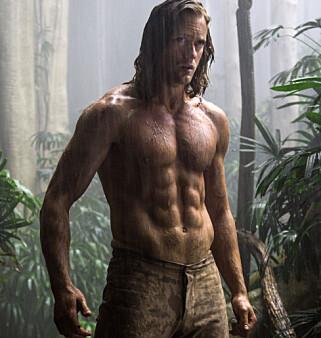 TARZAN: Alexander Skarsgård i «The Legend of Tarzan». Foto: Jonathan Olley/Warner Bros. Entertainment via AP
