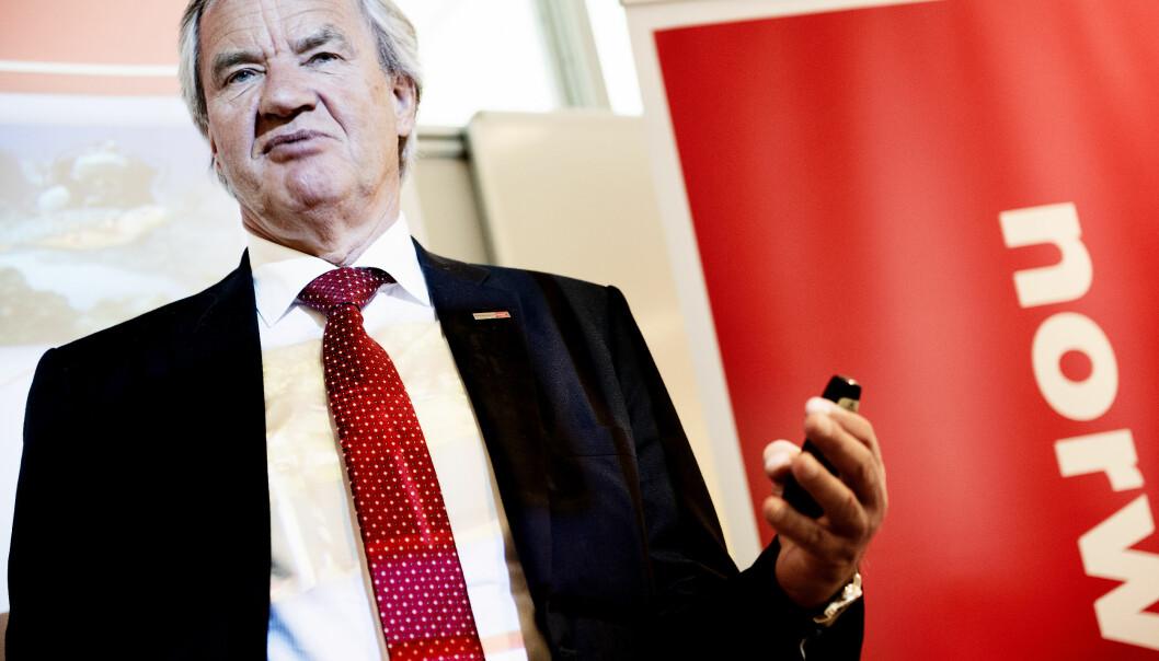 <strong>TRØBBEL:</strong> Bjørn Kjos' Norwegian har måttet kansellere en rekke flyvninger idet sommerferien står for dør. Foto: NTB scanpix
