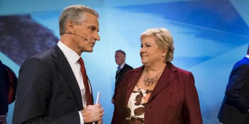 image: Slik vil Erna og Jonas redde norske jobber