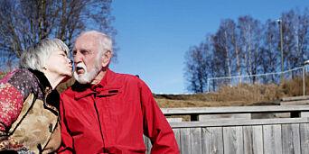 image: Erik (82) syntes det var et sjokk å bli alene. Så møtte han Edel (73)