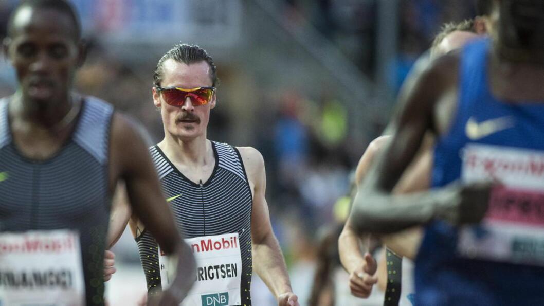 IKKE BRA NOK?  Henrik Ingebrigtsen (25) har bedre enn noen andre norske friidrettsutøvere utfordret verdenseliten. Hvorfor er ikke det bra nok til å gi ham et kjapt ja til OL-tur? FOTO: Hans Arne Vedlog  / Dagbladet.