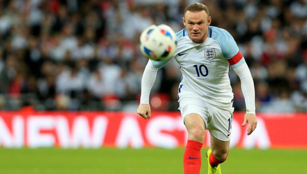 SER FRAM MOT EM: Wayne Rooney har stor tro på sitt eget lag foran EM i Frankrike. Foto: David Klein/Sportimage/Cal Sport Media