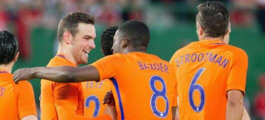 Nederland banket nok en EM-klar nasjon