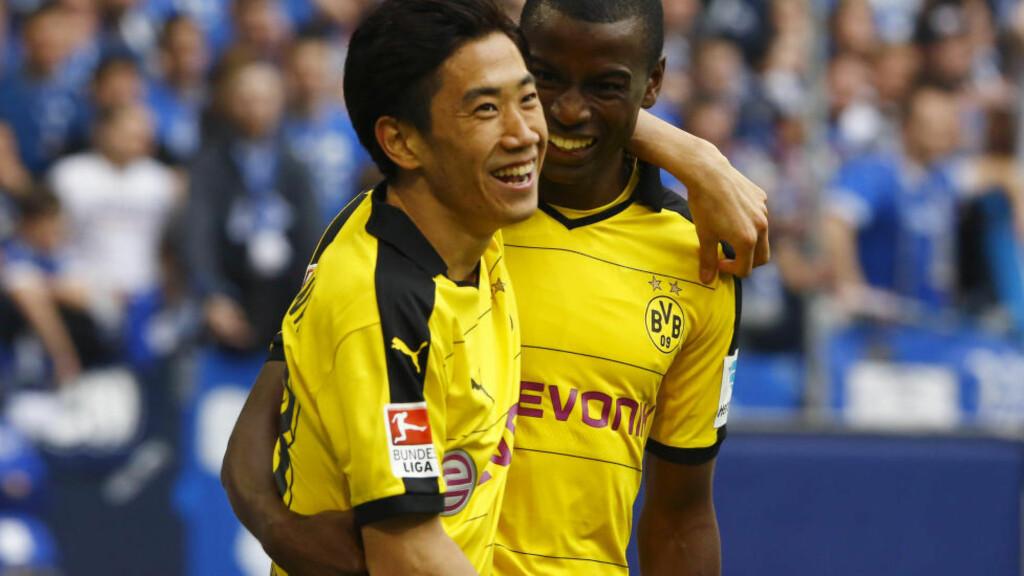 STORT INTERVJU: Borussia Dortmunds Shinji Kagawa snakker om sesongen han har lagt bak seg i den tyske klubben. Foto:  REUTERS/Wolfgang Rattay/NTB Scanpix