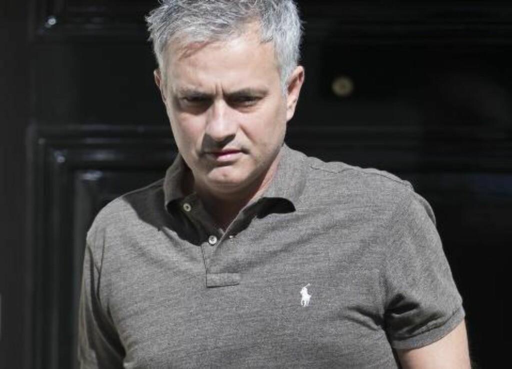 UNITED-AKTUELL.  Jose Mourinho. Foto: NTB Scanpix