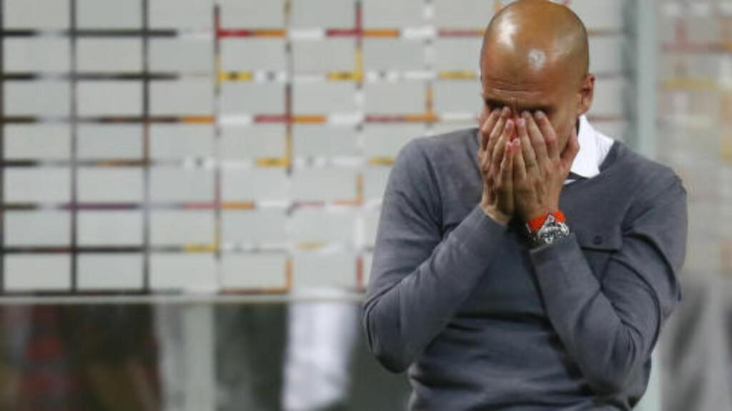FØLELSER: Pep Guardiola er et følelsesmenneske. Foto: NTB Scanpix
