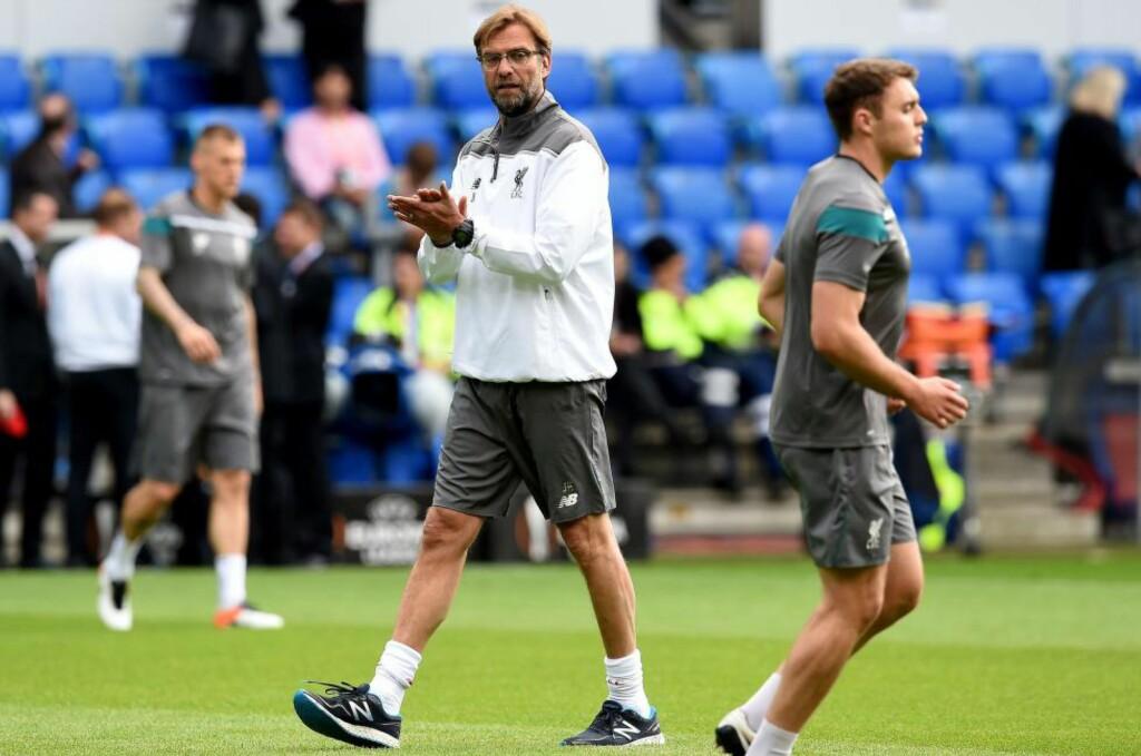 GODT FORBEREDT: Jürgen Klopp overbeviste Liverpool-eierne om at han var rett mann for trenerjobben sist høst. Foto: Scanpix