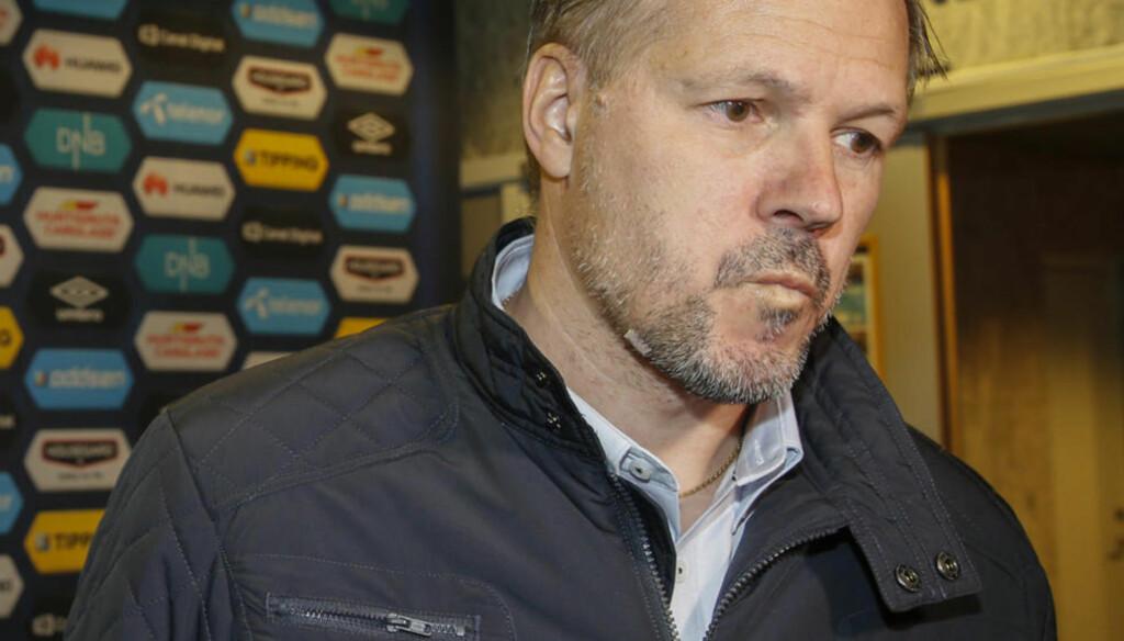 HAR EN JOBB Å GJØRE:  Vålerenga-trener Kjetil Rekdal. Foto: Terje Pedersen / NTB scanpix