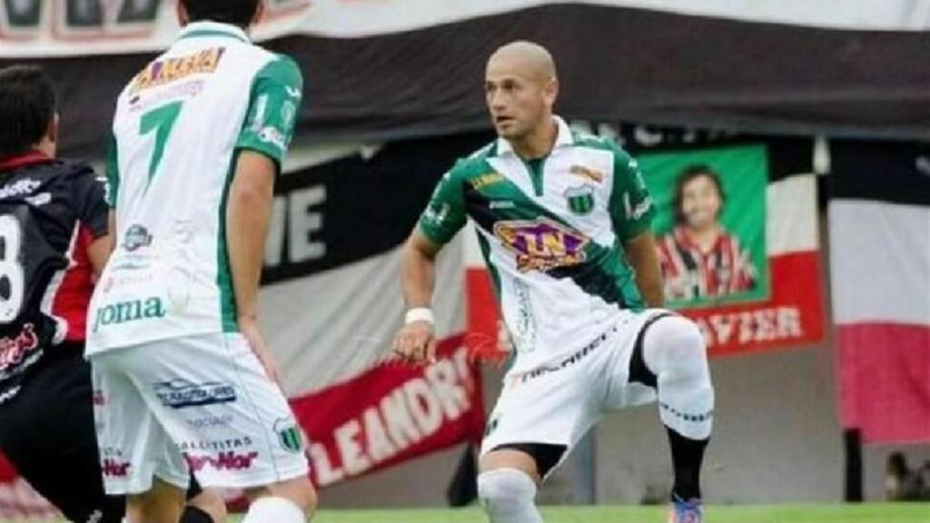 DREPT: Den argentinske fotballspilleren Rodrigo Espindola ble skutt og drept i går natt. Foto: Det argentinske fotballforbundet