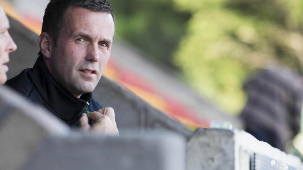 SER FRAMOVER: Ronny Deila tar avskjed med Celtic til helga. Foto: NTB Scanpix