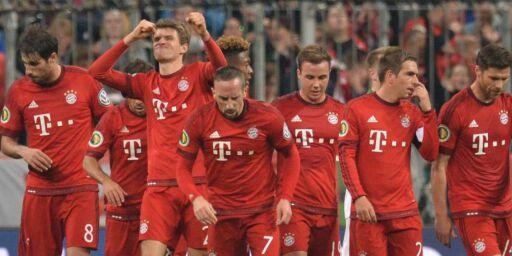 image: Suverene Bayern München i rute til trippelen