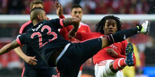 image: Brennhete Vidal med stjernetreff da Bayern avanserte