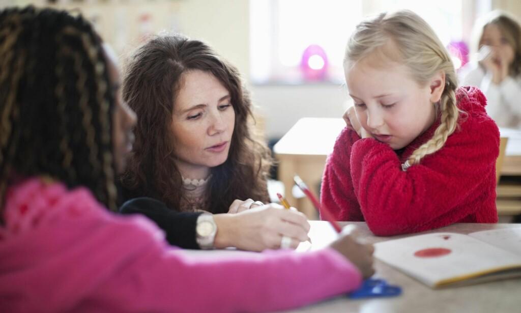 ENDRINGER: Ludvigsen-utvalget, som skal behandles i Stortinget til høsten, skisserer omfattende endringer i norsk skole. Foto: Maskot / NTB Scanpix <div><br></div>