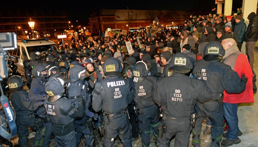 <strong>NY LOV:</strong> Etter overgrepene i Köln på nyttårsaften, er det nå ventet at Tyskland vil innføre strengere straffer for voldtekter, gruppeovergrep og trakassering . Foto: EPA/RALF HIRSCHBERGER / NTB Scanpix