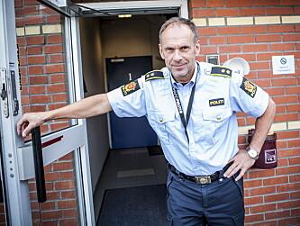 <strong>LEDER ETTERFORSKNINGEN:</strong> Morten Ole Pedersen, kriminalsjef ved Kongsberg politistasjon. Foto: Christian Roth Christensen / Dagbladet
