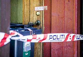 <strong>ÅSTEDET:</strong> Voldtekten skal ha skjedd her, på en adresse i utkanten av Kongsberg sentrum. Foto: Christian Roth Christensen / Dagbladet