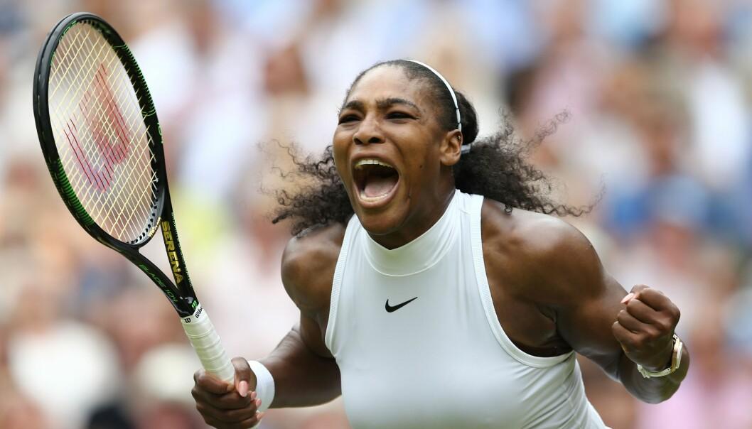 <strong>SINT:</strong> Tennisstjerne Serena Williams er ikke nådig etter uttalelser fra den gamle storspilleren Ilie Nastase. Foto: AFP PHOTO / JUSTIN TALLIS / RESTRICTED TO EDITORIAL USE