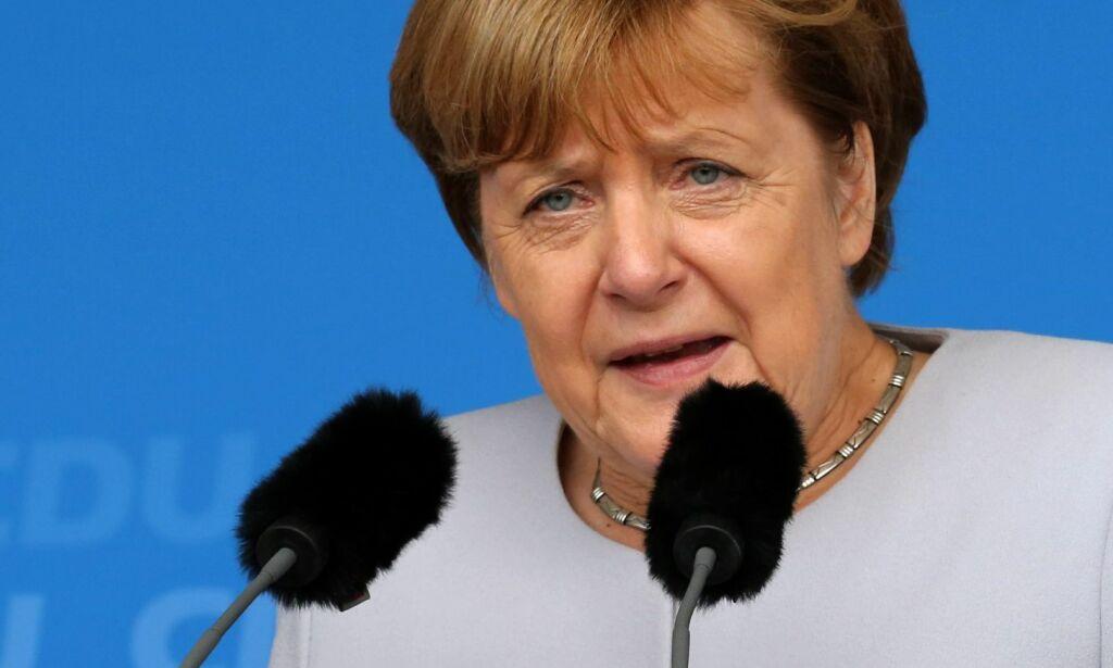 image: Merkel: Flyktningstrømmen ble brukt for å smugle inn terrorister i Tyskland