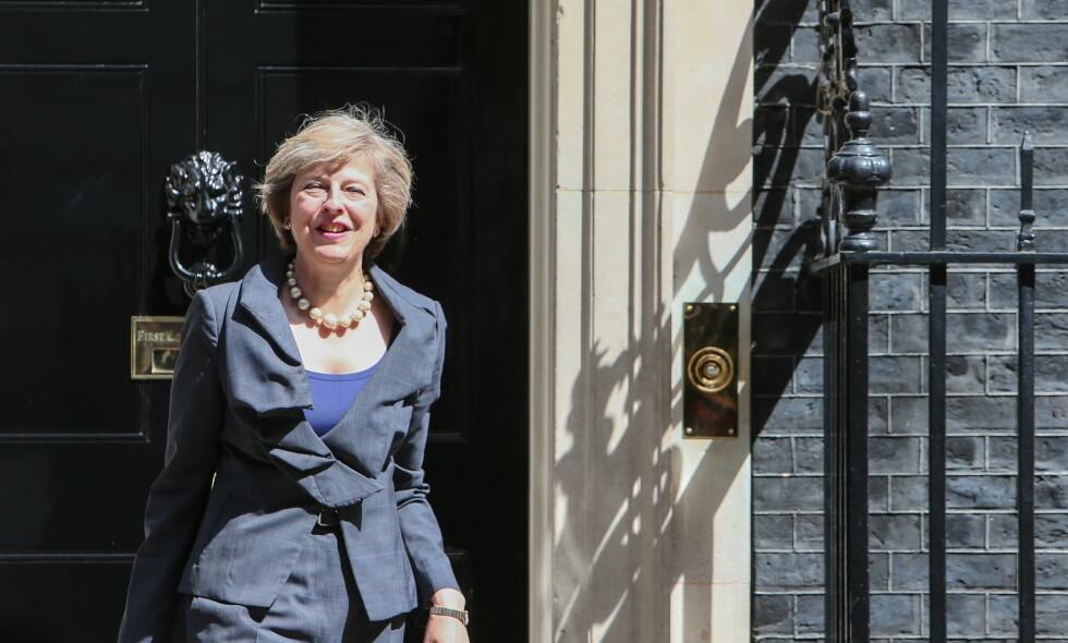 UKLAR: Theresa May får kritikk for å være uklar på hvordan hun skal få Storbritannia ut av EU. Foto: WENN / NTB Scanpix