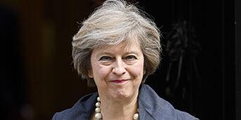 image: Theresa May blir britenes statsminister i morgen. Men hun har ei navnesøster med en ganske annen jobb...