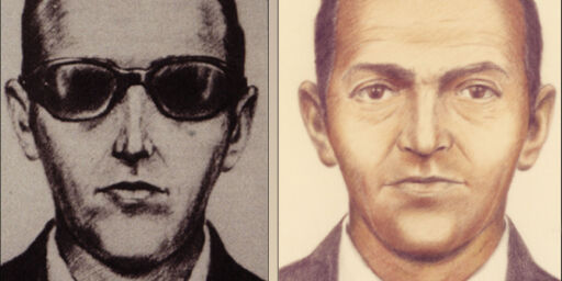 image: For 45 år siden hoppet den mystiske mannen ut av flyet med ti millioner kroner