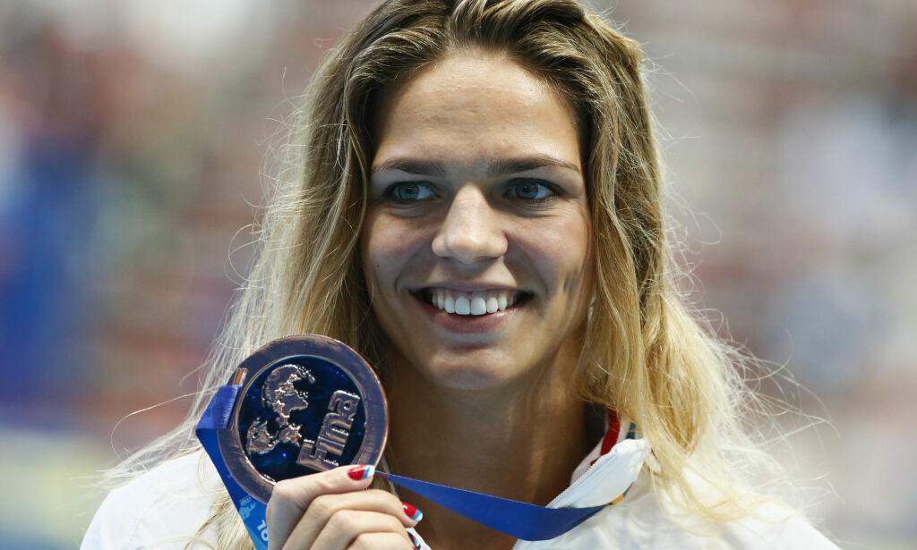 image: Bitter rivalisering mellom svømmestjernene: - Hun ser ikke på meg en gang