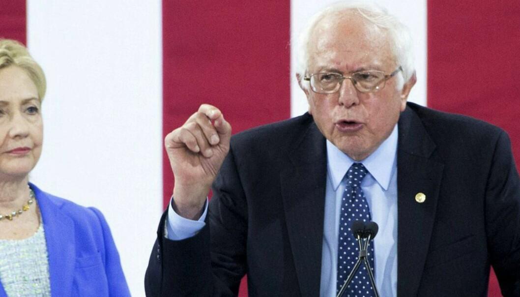 Sanders-tilhengere planlegger fiseprotest mot Clinton på landsmøte
