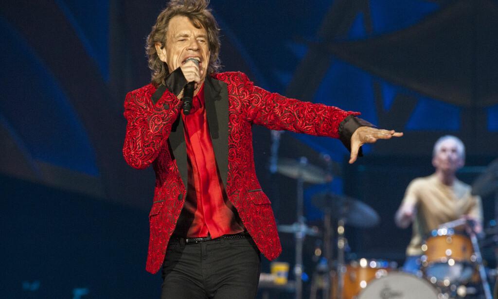 BLE PAPPA IGJEN: Mick Jagger har fått sitt åttende barn, med sin nåværende kjæreste Melanie Hamrick. 73-åringen er oldefar, men lar ikke det stoppe ham. Foto: Barry Brecheisen/Invision/AP, NTB scanpix