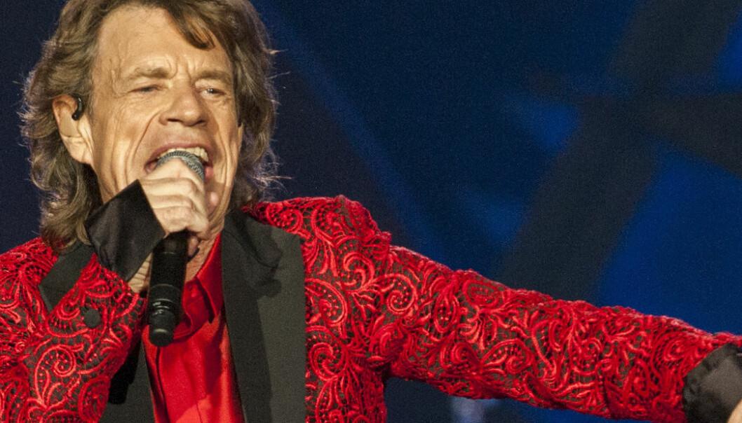 Mick Jagger (73) har blitt åttebarnsfar