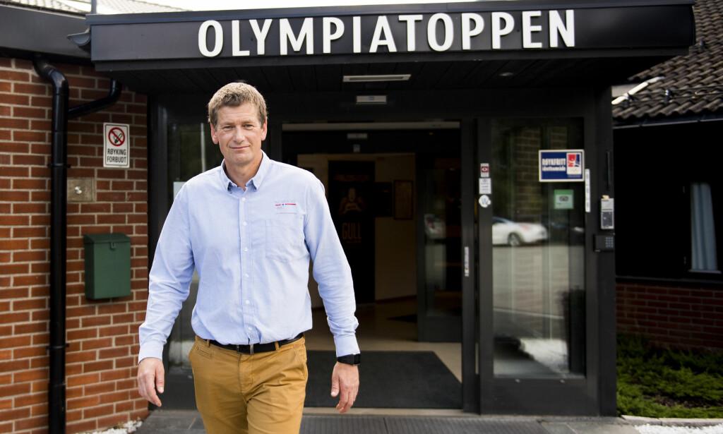 FORSVARER OL-PROSESSEN: Toppidrettssjef Tore Øvrebø presenterte den tredje og siste delen av troppen. Foto: Jon Olav Nesvold / NTB scanpix