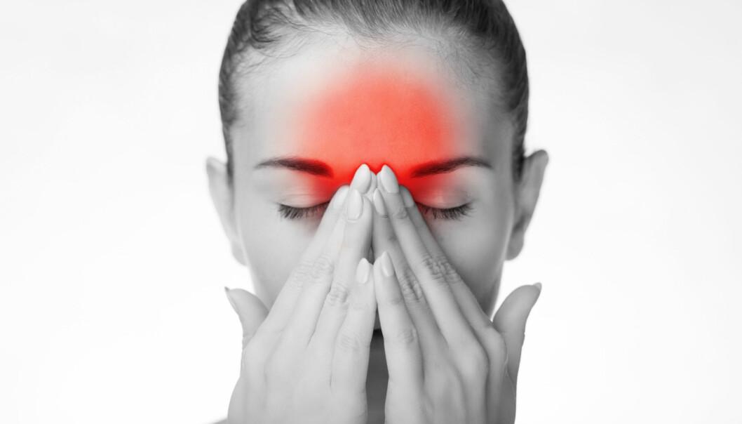 Rammer flest kvinner: Migrene rammer 13 prosent av nordmenn, og er vanligere hos kvinner enn hos menn. Illustrasjonsfoto: Shutterstock/ NTB Scanpix